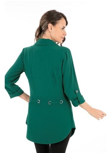 Modailgi Ceket Yeşil